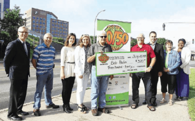 Saint John Charities team up for 50/50 fun